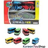 ICONIX Little Bus TAYO Special Mini 4 Pcs Toy Set (Tayo + Rogi + Gani + Rani)