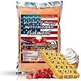 American Suplement -Harina de Avena Micronizada - 1kg (CHOCOLATE BLANCO CON GOFRE)