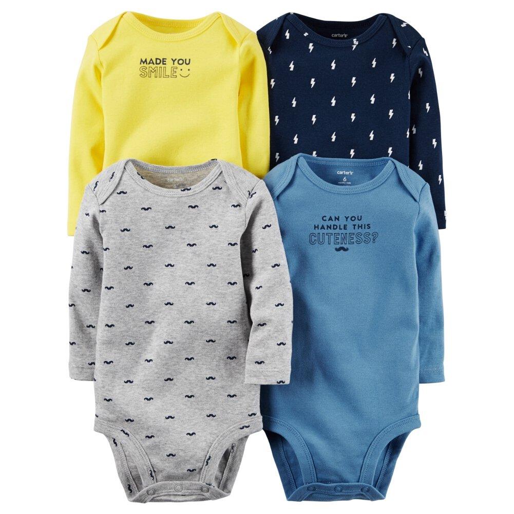 Carter's Baby-Girls Multi-pk Bodysuits 126g338 Carters