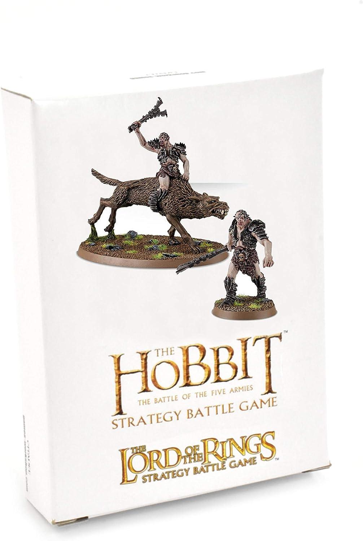 Games Workshop Hobbit Bolg zu Fu/ß und Beritten Middle Earth Gundabad Ork