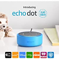 Echo Dot Kids Edition, a smart speaker with Alexa for kids (Blue)