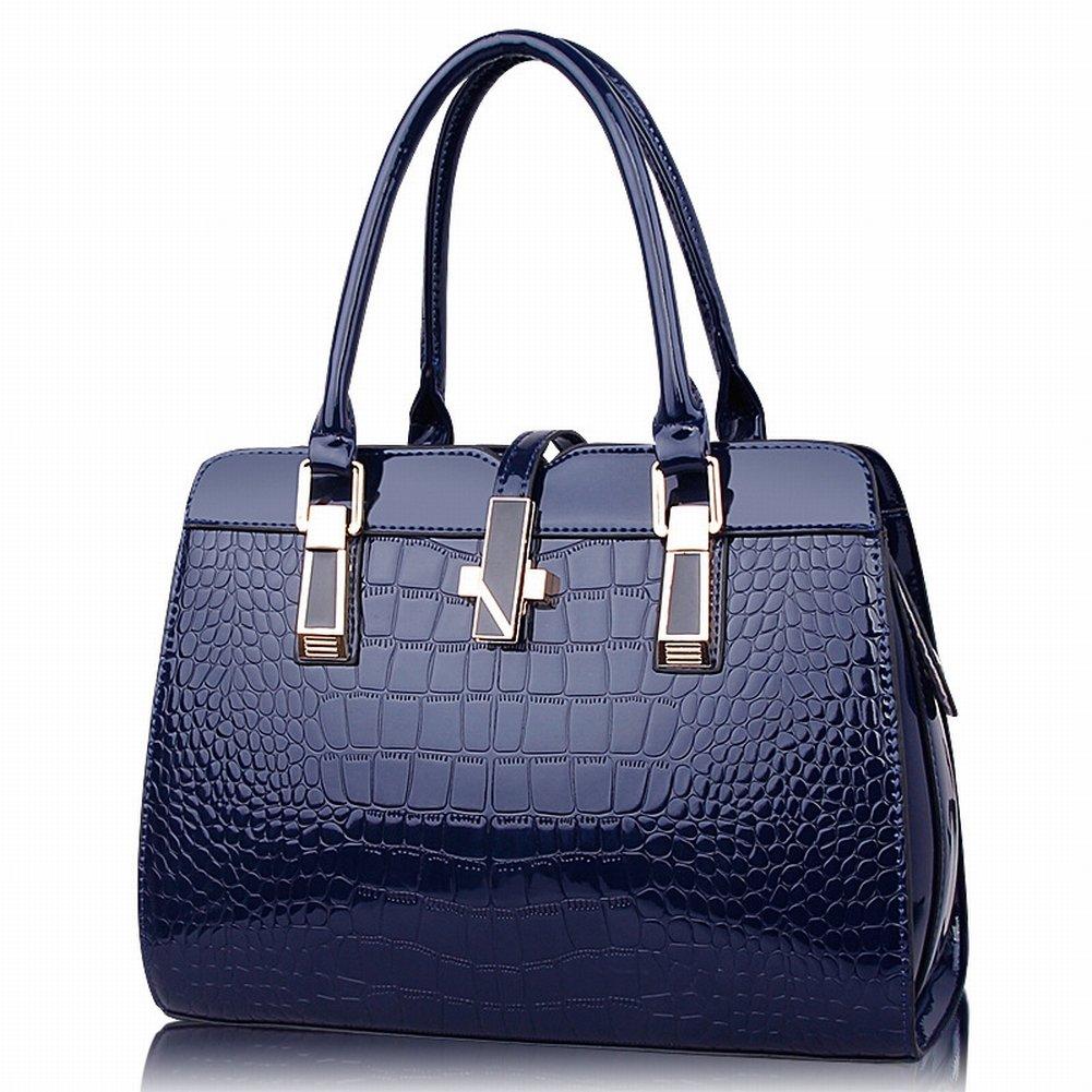 Handtasche Der Modischen Frau Der Handtasche Allgleiches Schulter Kuriertasche , Preußischblau