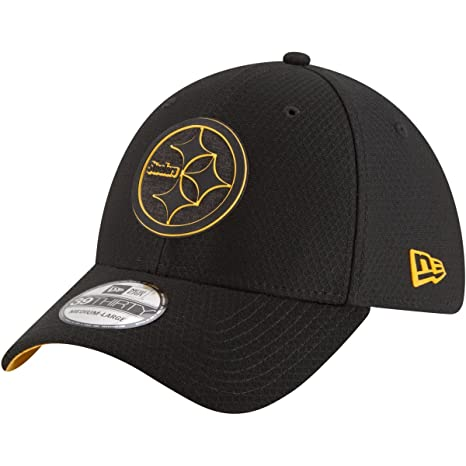 New Era 39Thirty Cap Training 2017 Pittsburgh Steelers