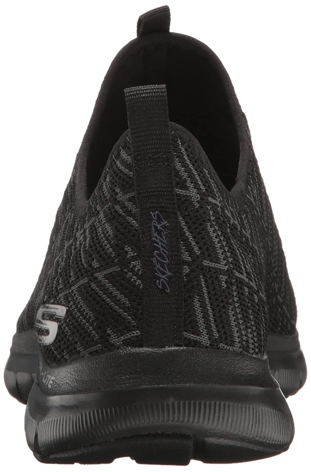 Skechers  12765,  Damen Sneakers Schwarz (Black)