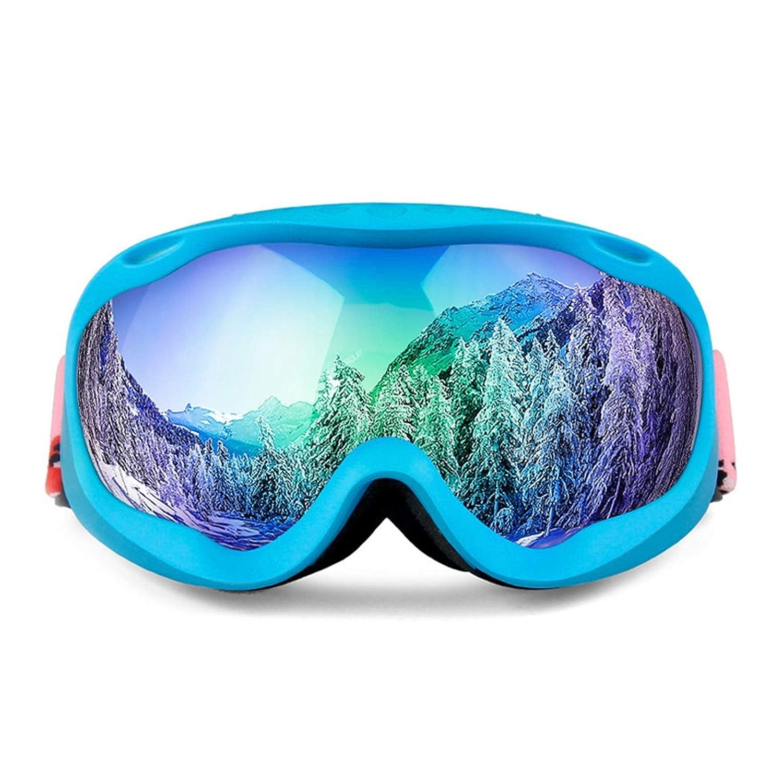 Style D  Abellale Lunettes de Ski pour Adulte Homme Femme Double lentille antibuée Grand Objectif sphérique Lunettes de Ski, AjusteHommest sur Les Lunettes