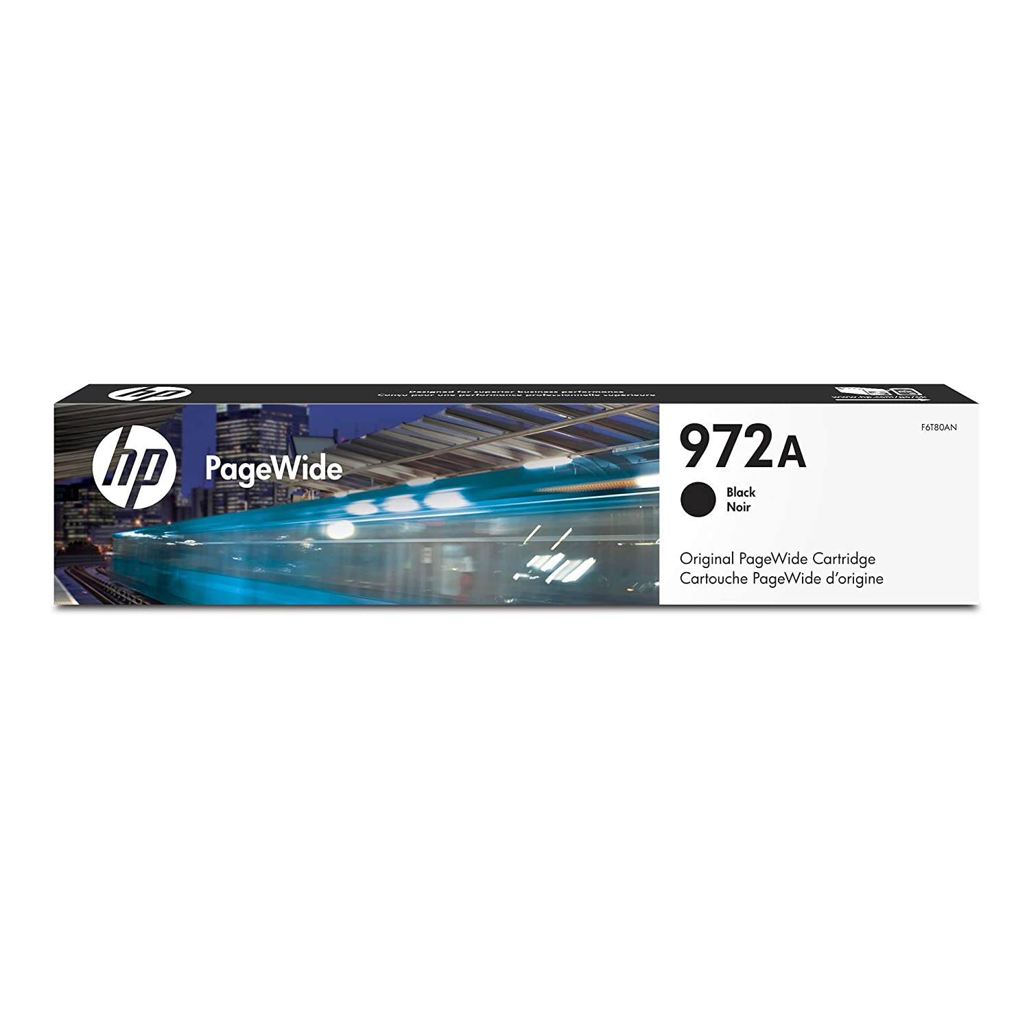 HP 972A Magenta Original PageWide Ink Cartridge For HP PageWide Pro 452dn, 452dn, 452dw, 552dw, HP PageWide Pro 477dn, 477dn, 477dw, 577dw, 577z L0R89AN