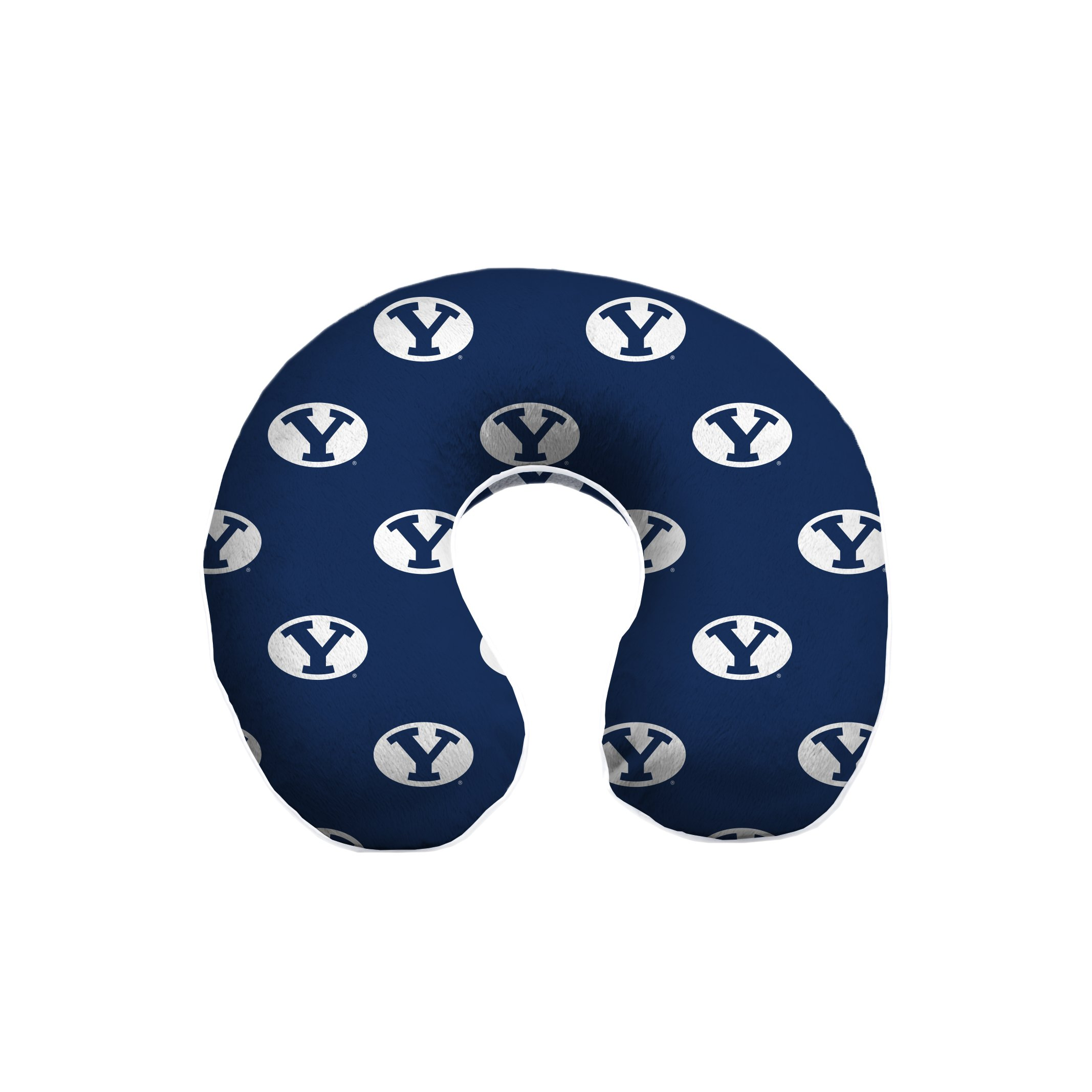 NCAA BYU Cougars NCAA Memory Foam Travel Pillow by Pegasus Sports