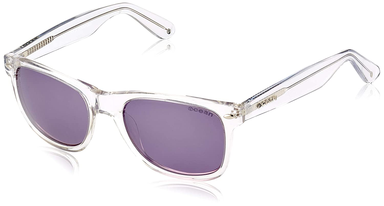 Ocean Sunglasses Beach-Gafas de Sol - Montura : Blanca - Lentes : Polarizadas - Violeta - (18202.9): Amazon.es: Deportes y aire libre
