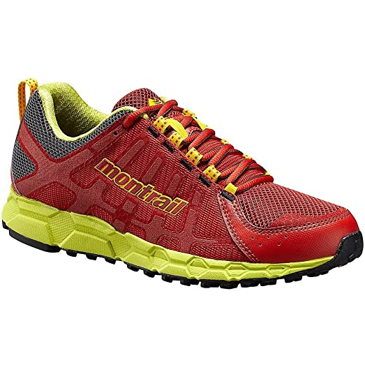 Bajada II Shoe - Men's Sail Red / Chartreuse 14