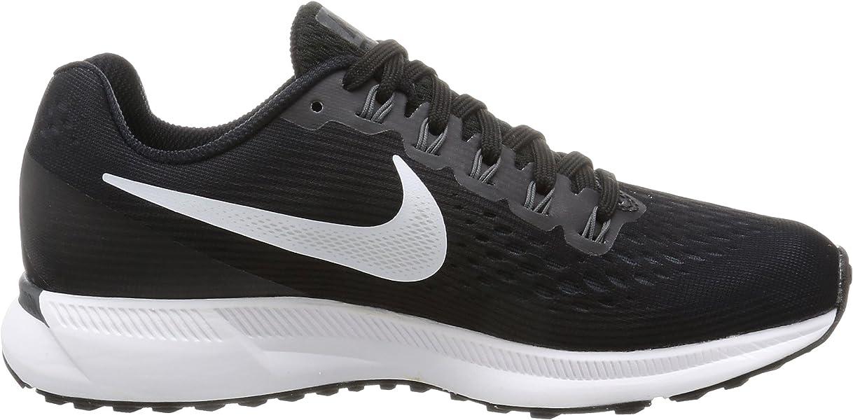 sports shoes d413e 2ba9c Nike Damen Air Zoom Pegasus 34 Laufschuhe Schwarz (BlackWhite-Dk Grey-