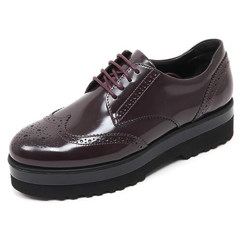 B7446 scarpa inglese donna HOGAN H308 scarpe bordeaux shoe woman   Amazon.it  Scarpe e borse de444be056d