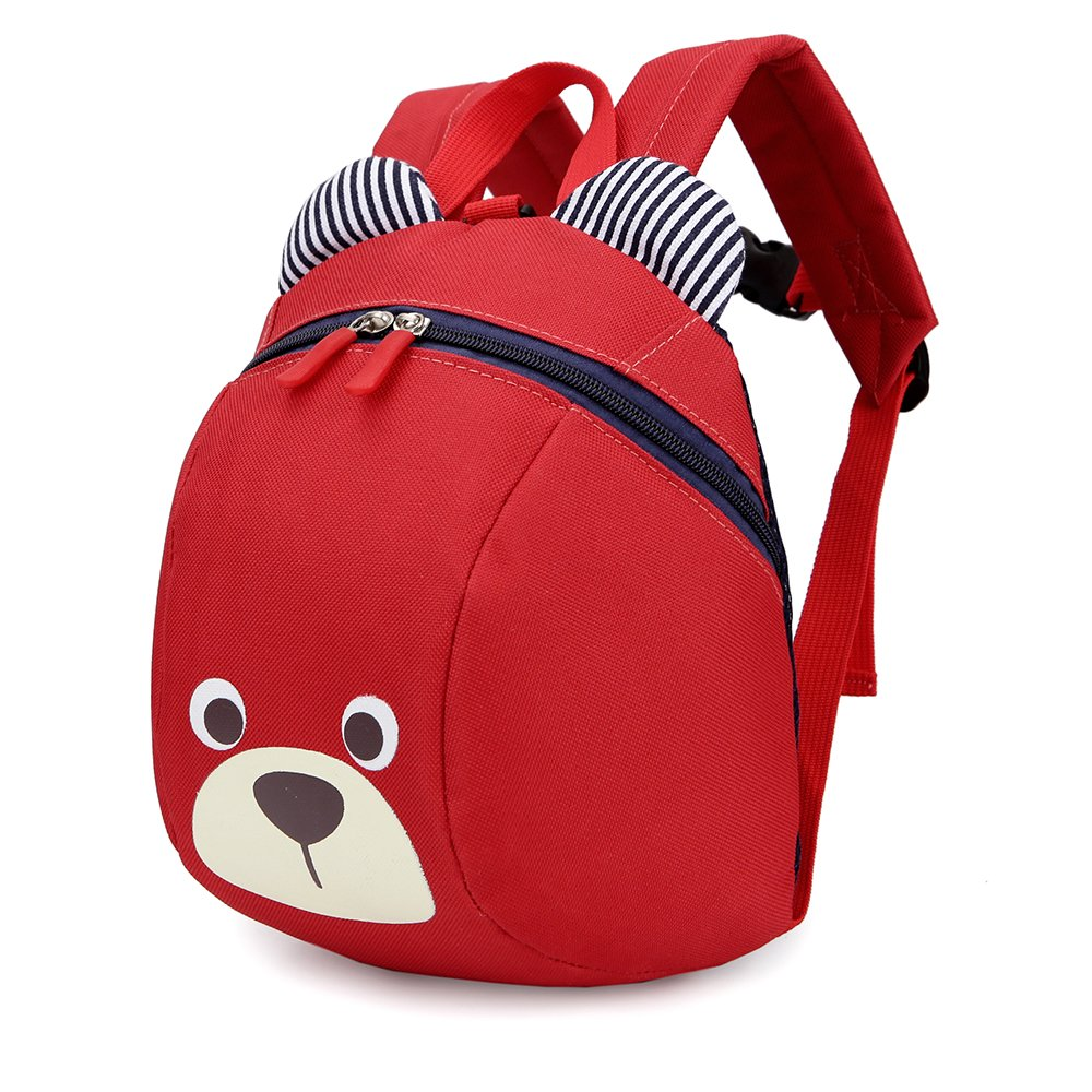 XYTMY Children Small Toddler Anti-lost Walking Safety Leash Backpack Bear for Under 5 Years Old Kids (Deep Blue)