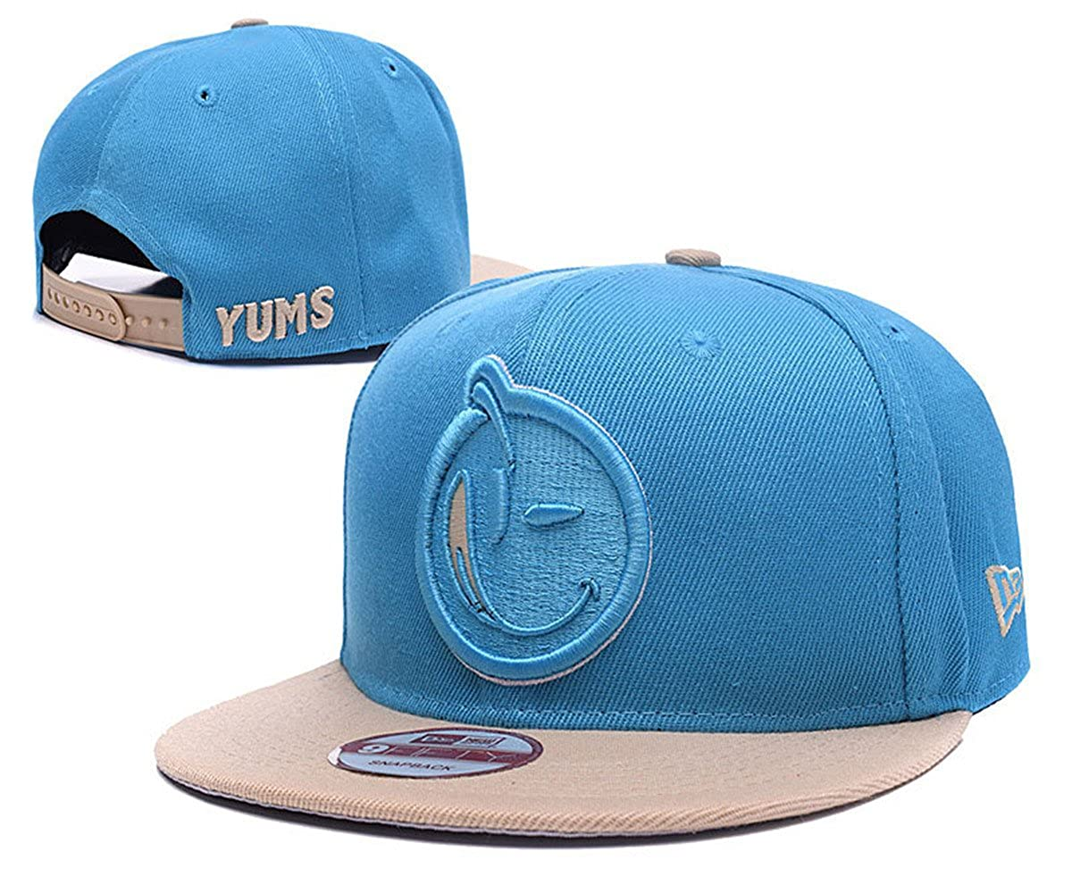 YUMS hats Unisex Fashion Cool Snapback Baseball Cap Black 1 One ...