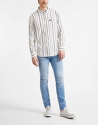 Lee Riveted Shirt Camisa para Hombre: Amazon.es: Ropa y accesorios