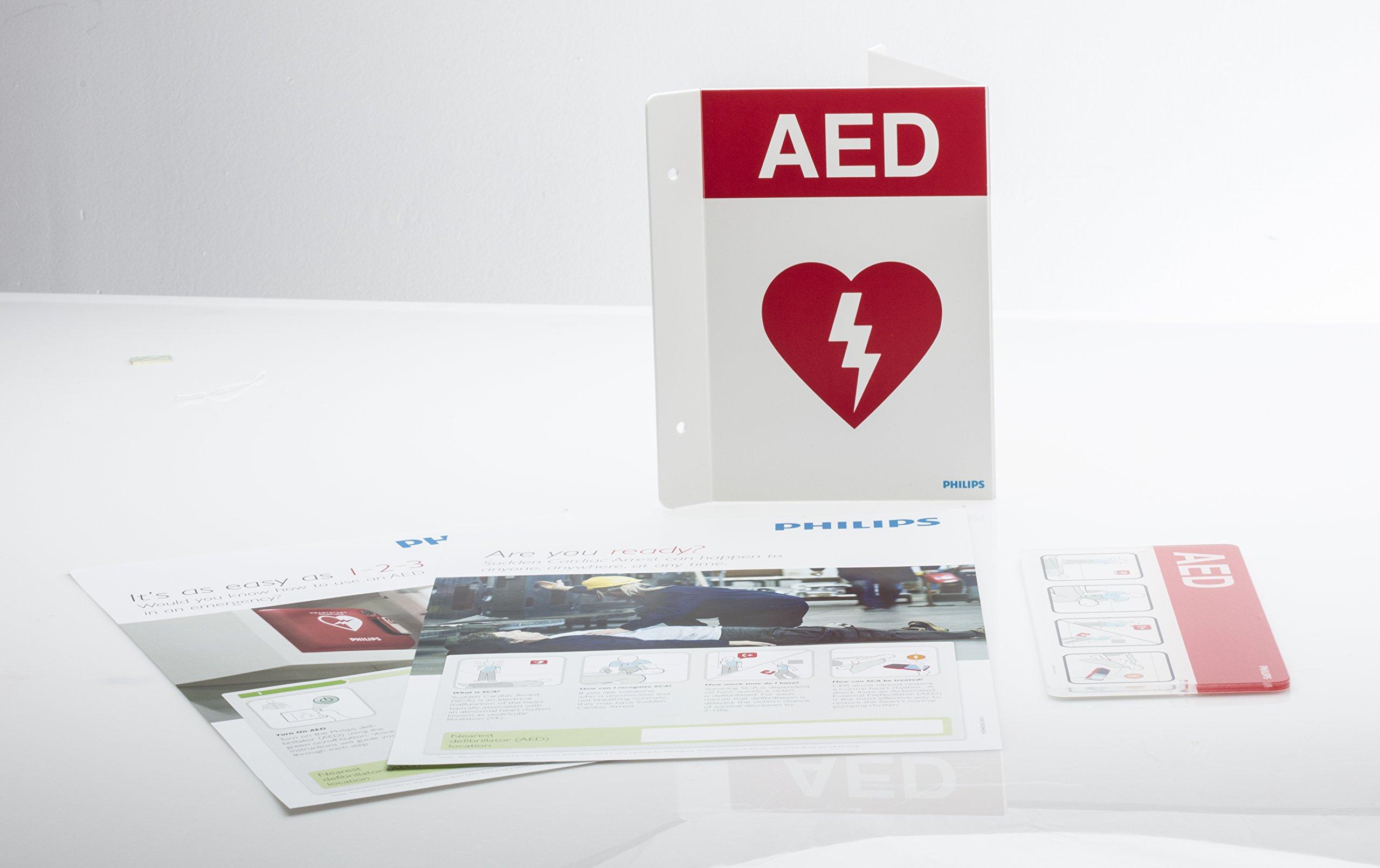 Philips HeartStart 861478 AED Signage Bundle