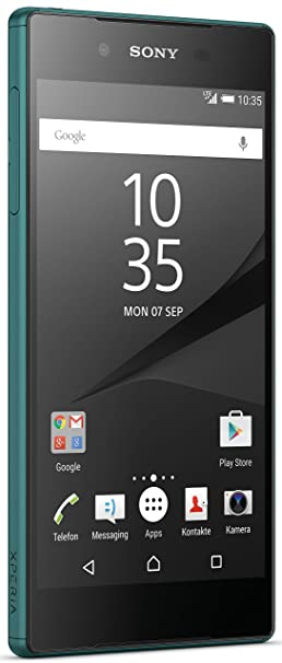 Sony Xperia Z5 Dual SIM Smartphone (13,2 cm (5,2 Zoll) Display, 32GB Speicher, Android 6.0) Grün