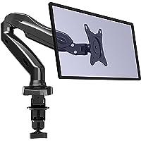 """Invision Monitor Tischhalterung - Ergonomische Gasgestützte Vollbewegliche Einarm für 43-68,5 cm (17""""-27"""") Bildschirme - Neigbar mit Klemme - VESA 75x75-100x100 mm. Wiegt 2-6,5 kg (MX150)"""