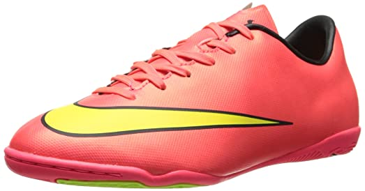 711e7ee9a Nike Youth Mercurial Victory V Indoor Soccer Shoes (Hyper Punch/Metallic  Gold Coin/