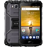 Ulefone Octa Core 6GB RAM Dual Sim Android Smartphone, 5.0 inch FHD IP68 Waterproof 4G Android 7.0 2.6GHz 64GB ROM Sim Free Mobilephone,13MP + 16MP camera NFC GPS 4700mAh Big Battery Quick Charging-Black
