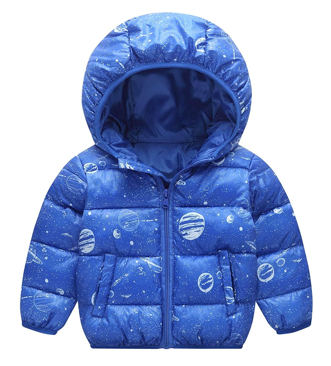 Happy Cherry Kid's Down Jacket Ultra Light Warmth Outerwear Children Winter Outfits