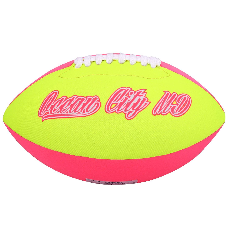 Molee Neopren American Football,Gr/ö/ße 6,ca.26cm x 15cm,Verbesserte Verarbeitung der N/ähte und des Ventils