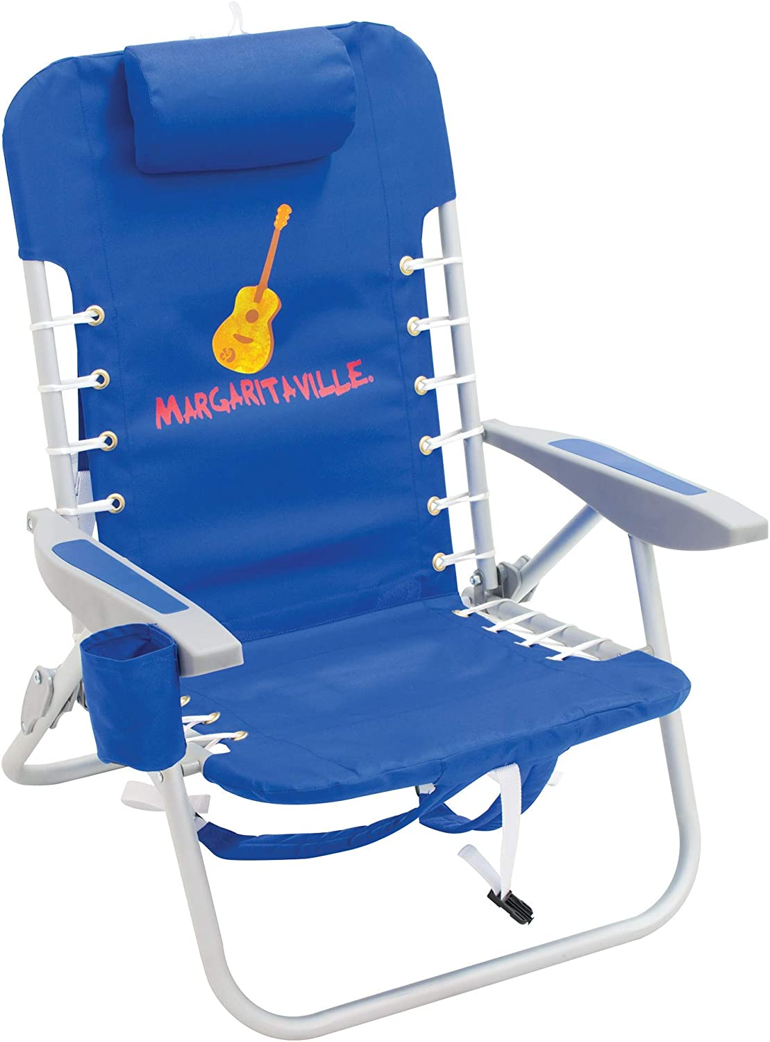 Margaritaville 4-Position Backpack Folding Beach Chair
