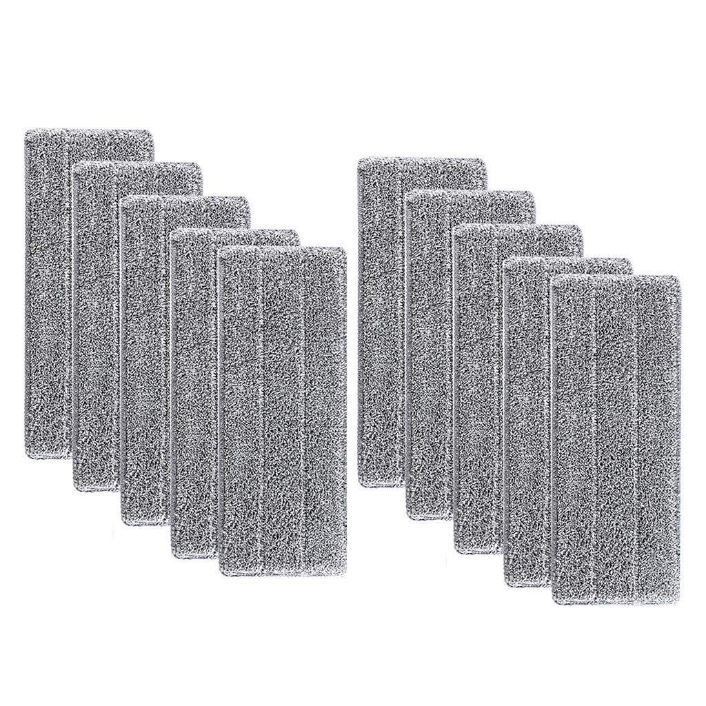 YRD TECH Replacement Microfiber Washable Spray Mop Dust Mop Household Mop Head Clean (10Pcs, D)