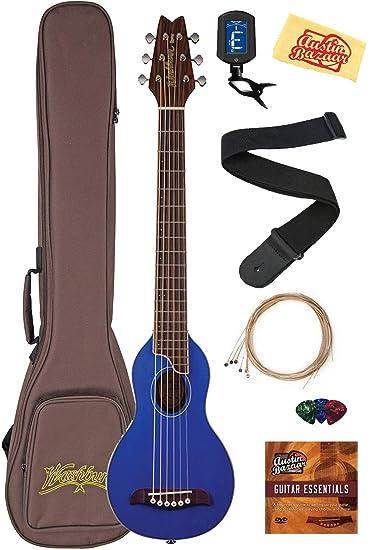 Amazon.com: Washburn ro10 Rover Púa De Guitarra Acústica con ...