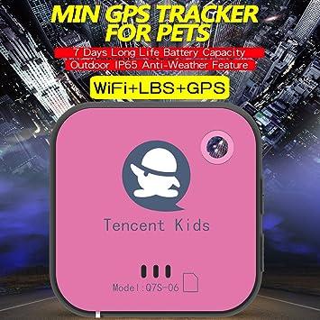 Tencent - Localizador para niños con rastreador GPS para niños, ancianos, mascotas, perros