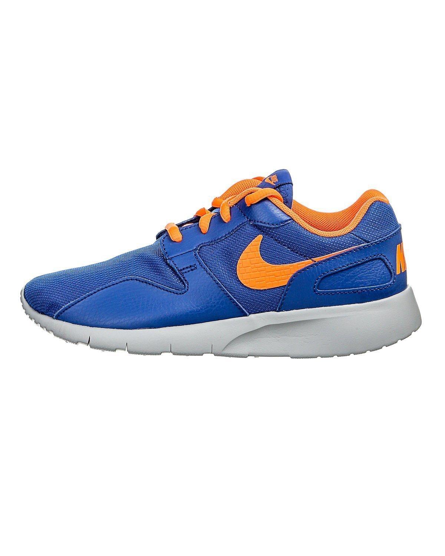 Nike Kaishi (GS) Zapatillas de Running, Niños 36.5 EU|Azul / Naranja