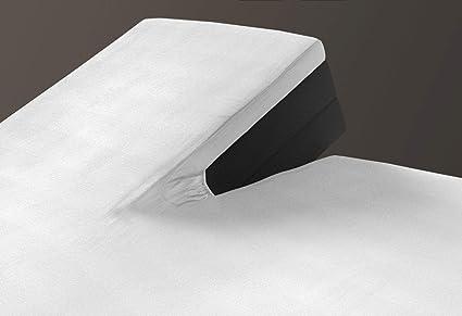 SLEEPMED Sábana Bajera Ajustable para Cama Doble Articulada | Juego de 2 | Sábanas en Algodón