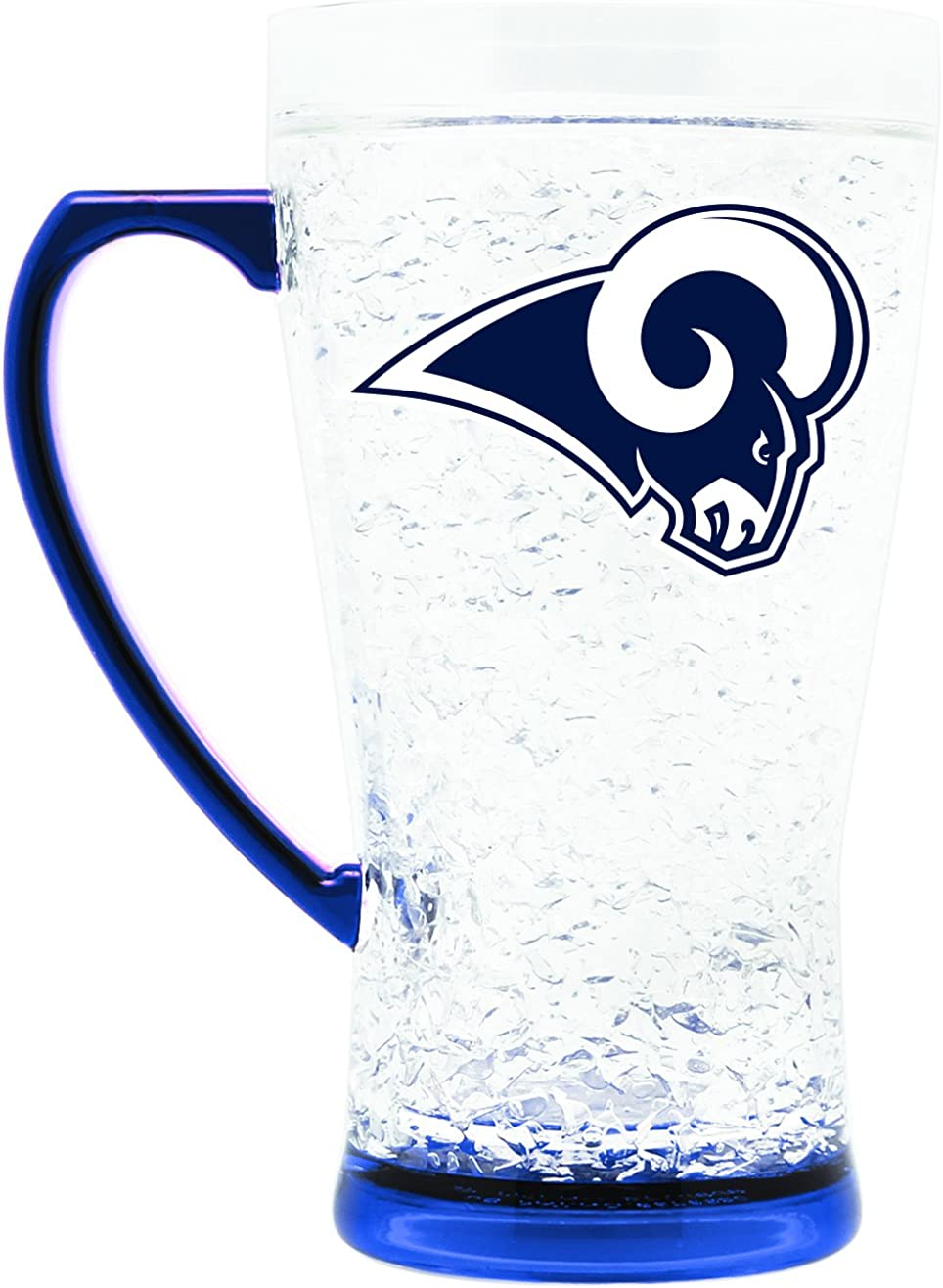 NFL Los Angeles Rams 16oz Crystal Freezer Flared Mug