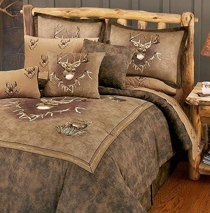 Fine Amazon Com Hemau Premium New Soft Whitetail Ridge Queen 8 Onthecornerstone Fun Painted Chair Ideas Images Onthecornerstoneorg