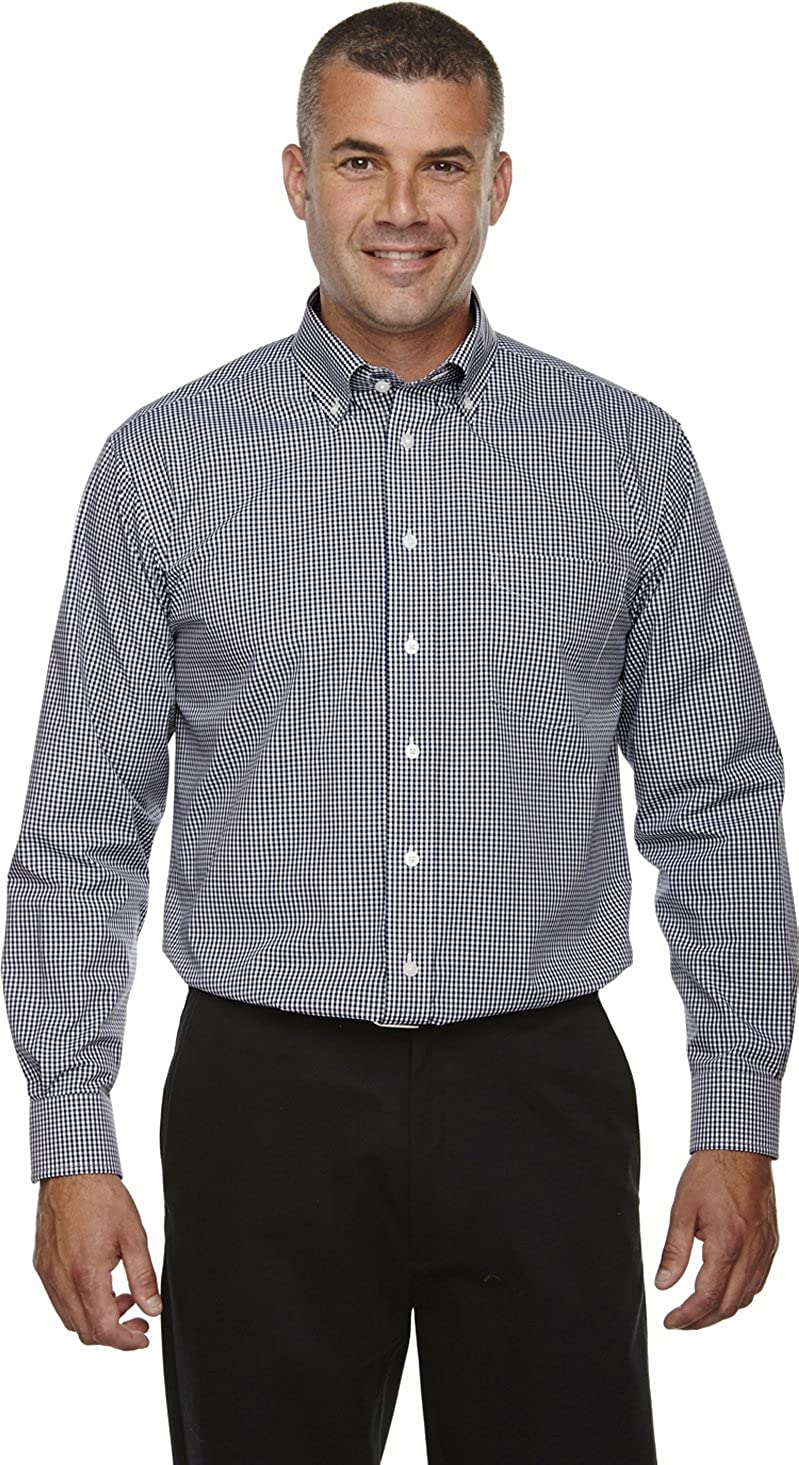 Devon /& Jones D640 Mens Crown Collection™ Gingham Check