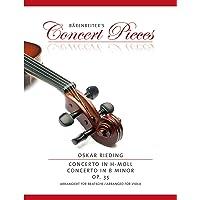 Concerto in h-Moll op. 35. Arrangiert für Bratsche