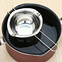 Reefa Bain-marie en Inox Pour Fondre du beurre Chocolat avec Poignée Résistante à la chaleur