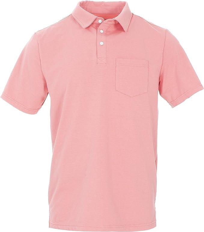 Strawberry - XS Kickee Pants Mens Short Sleeve Solid V-Neck Tee