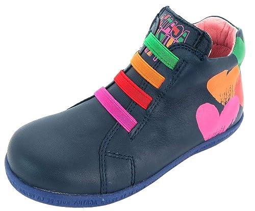 633c33fd9 Agatha Ruiz De La Prada 151934 - Botas de Piel para niña Azul Azul, Color  Azul, Talla 23,5 EU Niño: Amazon.es: Zapatos y complementos