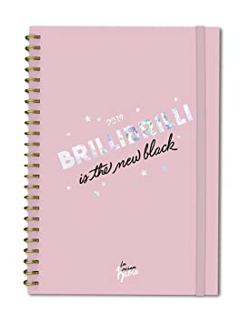 Agenda anual semana/vista Vecina Rubia 2019: Brilli brilli is the new black: 32 (TANTANFAN)