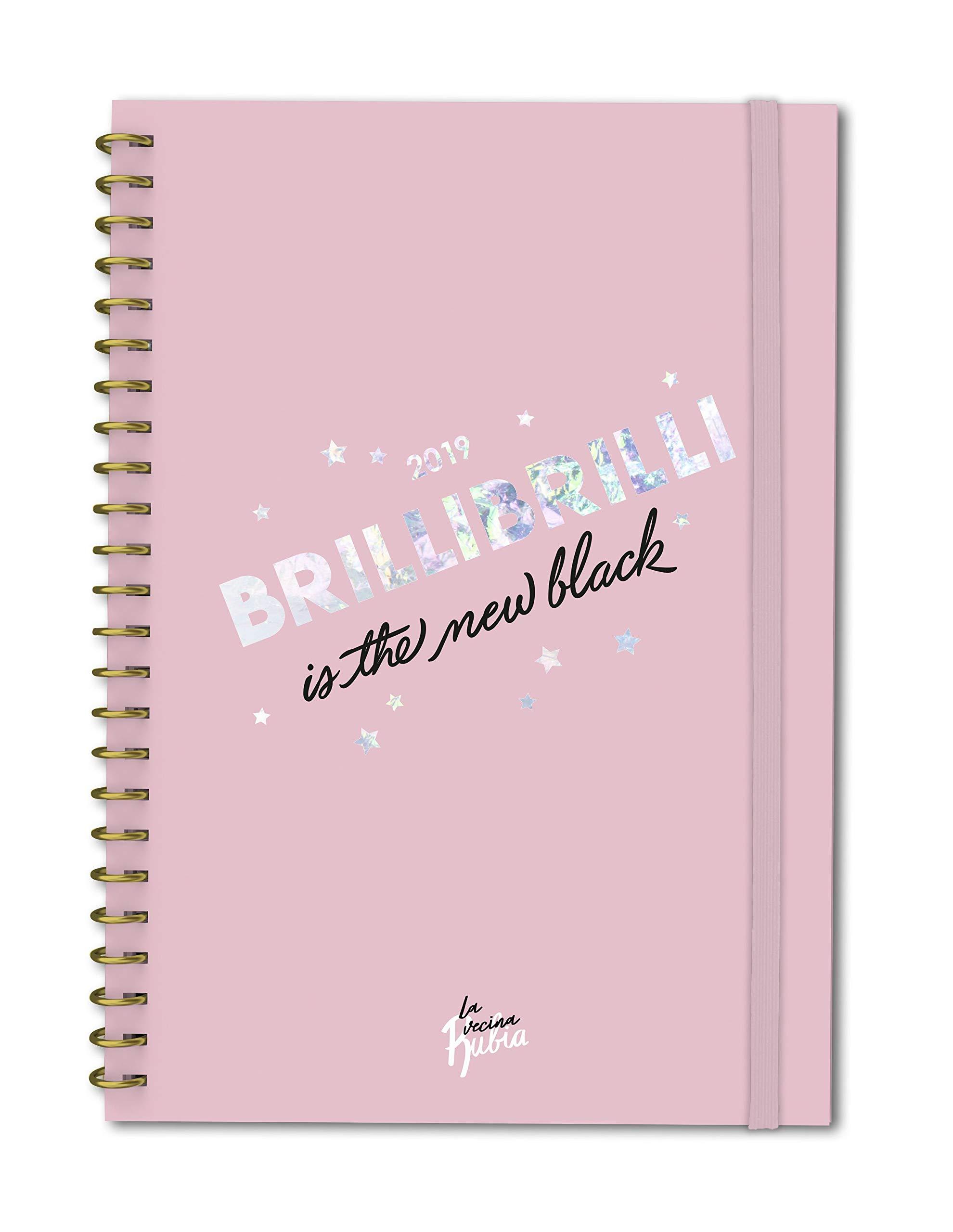 Agenda Anual sem/vista Vecina Rubia 2019 (Spanish) Hardcover