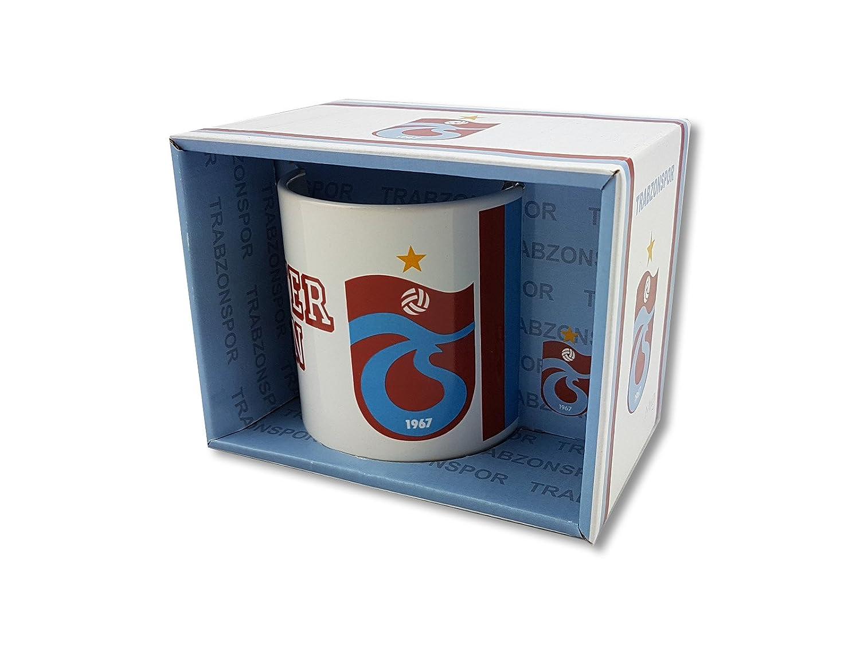 Trabzonspor lisanslı /ürund/ür//Seramik Mug Kupa Fan Tasse Keramiktasse Kaffeebecher Trabzonspor TS 1967 300 ml Motiv 1