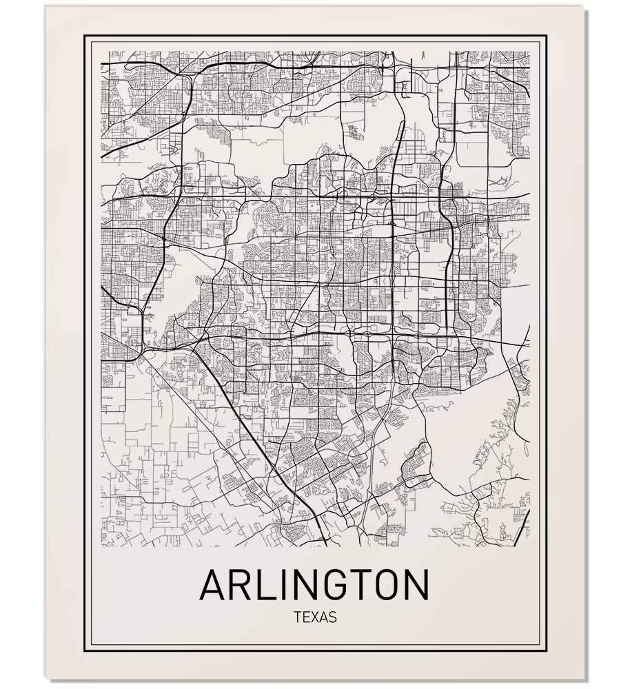 Amazon.com: Arlington Poster, Arlington Map, Map of Arlington, City on huntsville tx map, petersburg tx map, katy tx map, cookeville tx map, waco tx map, lewisville tx map, long beach tx map, midland tx map, bowling green ky map, avondale tx map, greenville tx map, killeen tx map, comanche tx map, cisco tx map, houston tx map, el paso tx map, tyler tx map, springfield tx map, amarillo tx map, garland tx map,