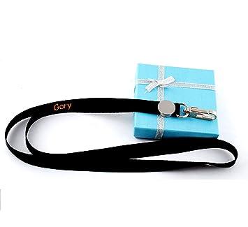 Amazon.com: GP personalizado bordado cordón llavero kechain ...