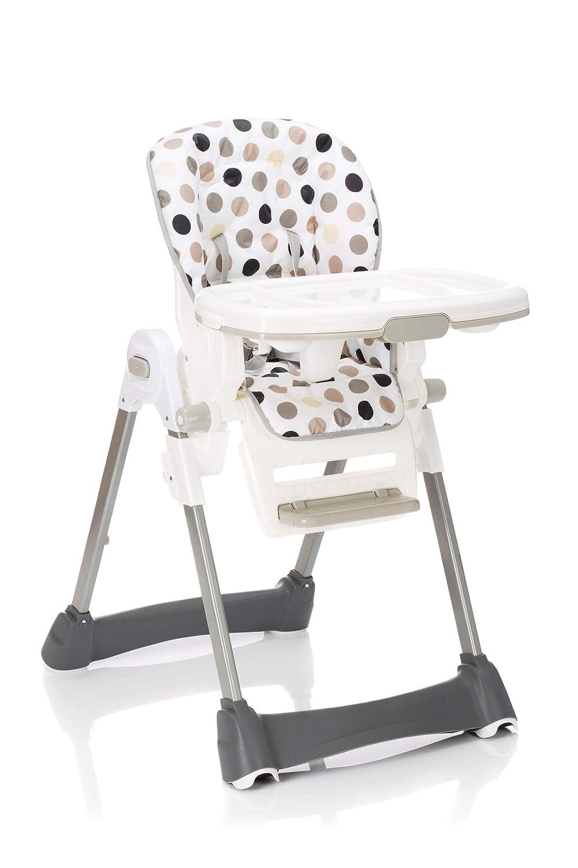 Hochstuhl Cookie klappbar h/öhenverstellbar abnehmbares Sitzpolster beige Tisch
