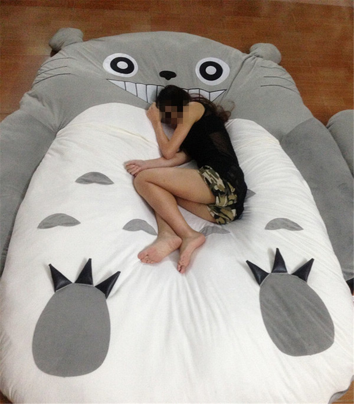 HOT SALE Children's and Adult Totoro Design Big Sofa Totoro Bed Mattress Sleeping Bag Mattress by VU ROUL (Image #2)