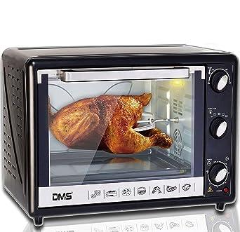 DMS® 63L Mini – Horno de sobremesa con pincho recirculación Pizza Horno Horno, horno