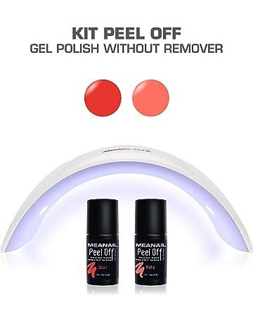 Lampara LED UV Secador de Uñas Esmalte Semipermanente Pintauñas Decoración de Uñas Kit Manicura y Pedicura