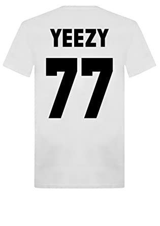Best Hip Hop 2020 New Unisex Yeezy 77 T Shirt Top kanye 2020 President West Kim K