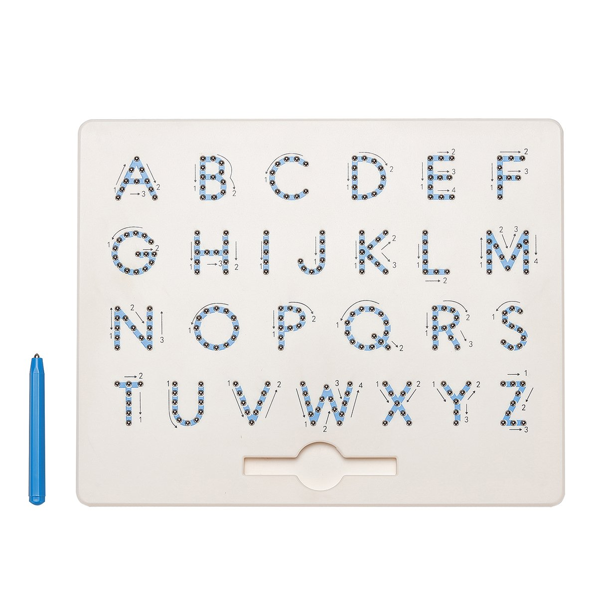 Toys A to Z Letter Lower Upper Case Numbers Magna Doodle ...