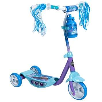 Disney Patinete de 3 Ruedas Frozen por Huffy: Amazon.es ...